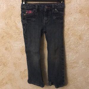 Super cute toddler girl Levi jeans 4T